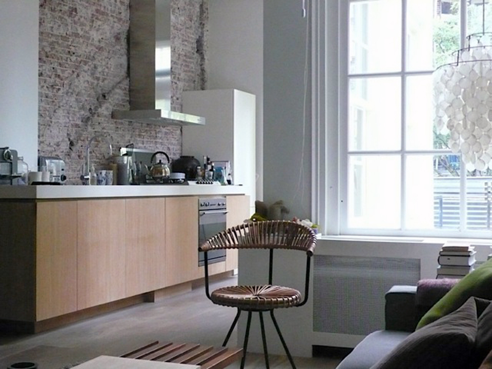 Fernando alonso architectural design apartment for Design apartment jordaan
